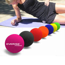 Custom Logo Size High Quality Colorful Official Silicone Lacrosse Massage Ball