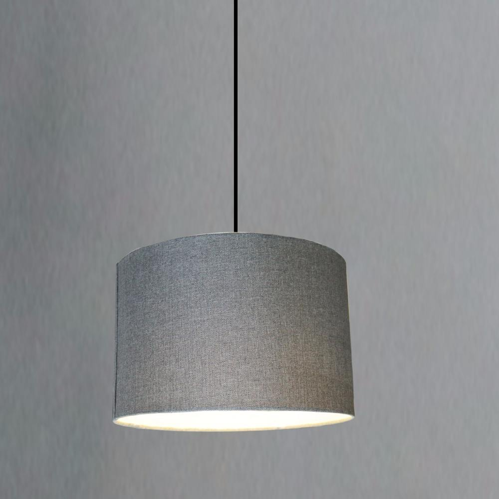 Modern Drum White Fabric Lampshades For Chandeliers Ceiling Hanging Table Lamps