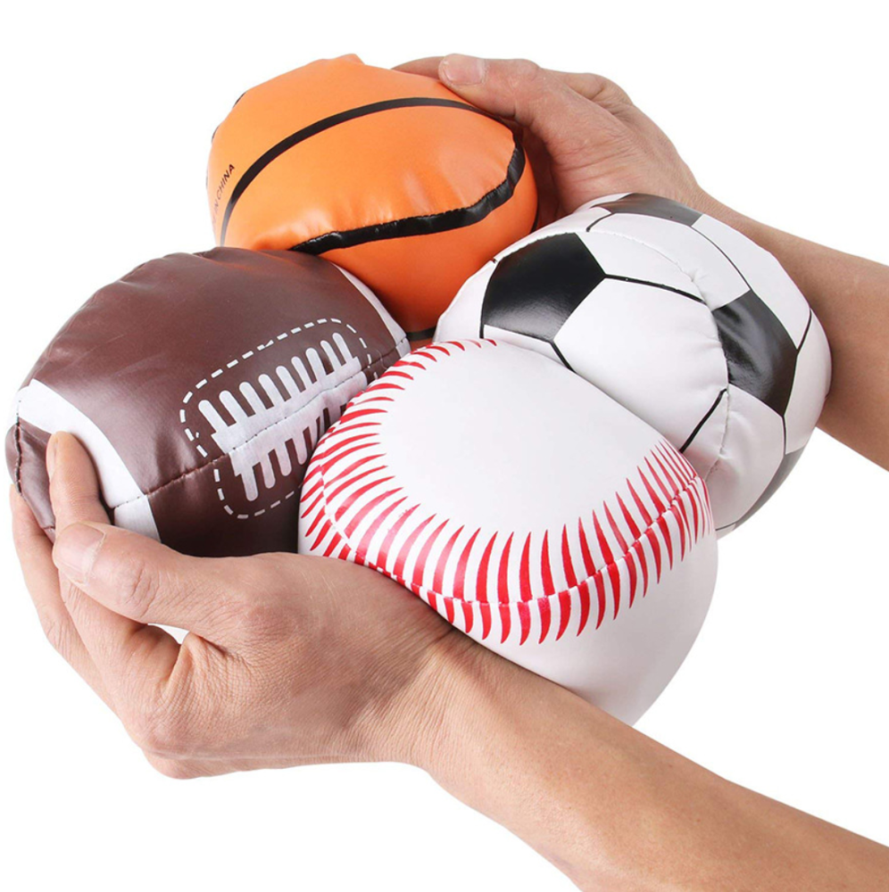 promotional woven kickball,mini sandbags ball