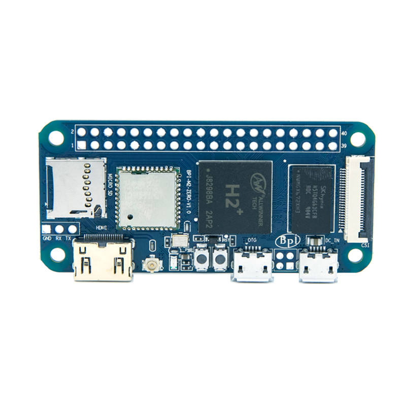 Banana pi M2 Zero allwinner H2+ Memory 512M ddr3 SDIO ap6212 support both Linux and android operating systems