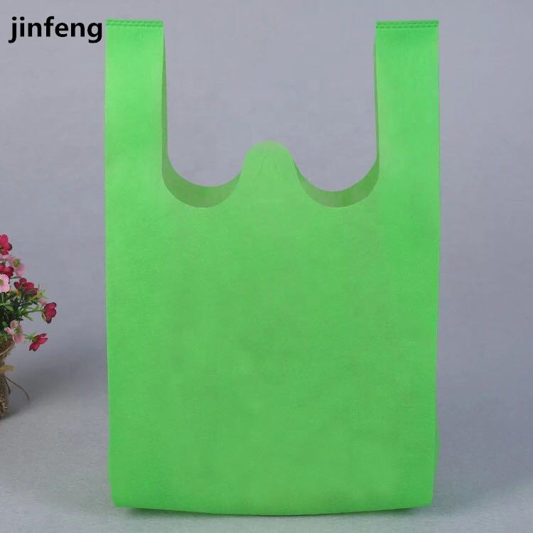 2019 eco friendly Top Quality Tote Nonwoven Bag With One Color Printing