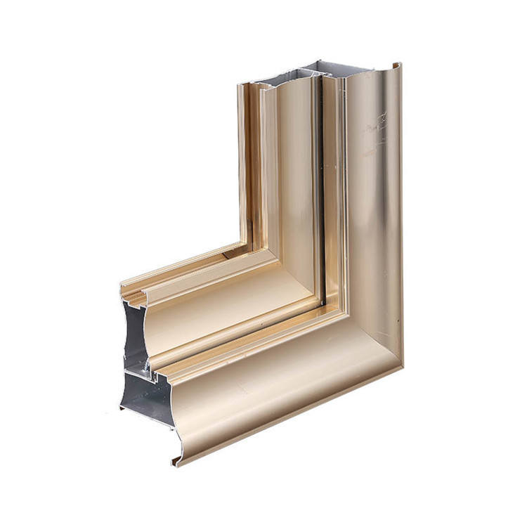 Shandong aluminium extrusion 6000 Series Aluminum Extrusion Sliding Window Profile Manufacturer Price