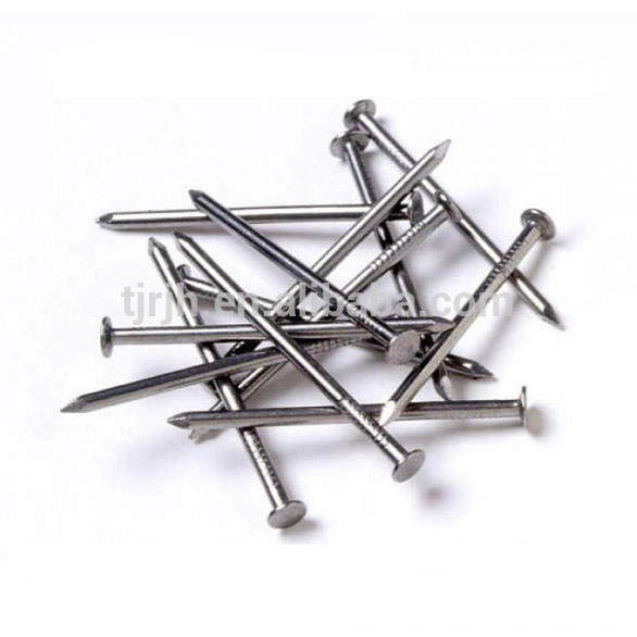 304 316 Stainless steel/common iron steel wire nail