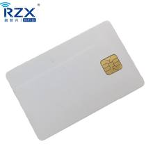 Competitive Price CMYK Offset Printing 64K Memory Contact Blank Smart Card