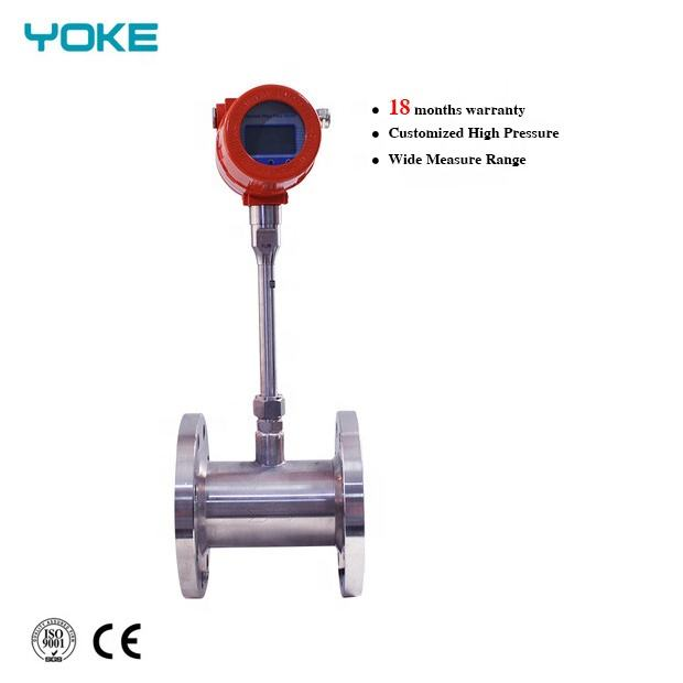 Thermal gas mass flow meter vortex steam gas mass flow meter