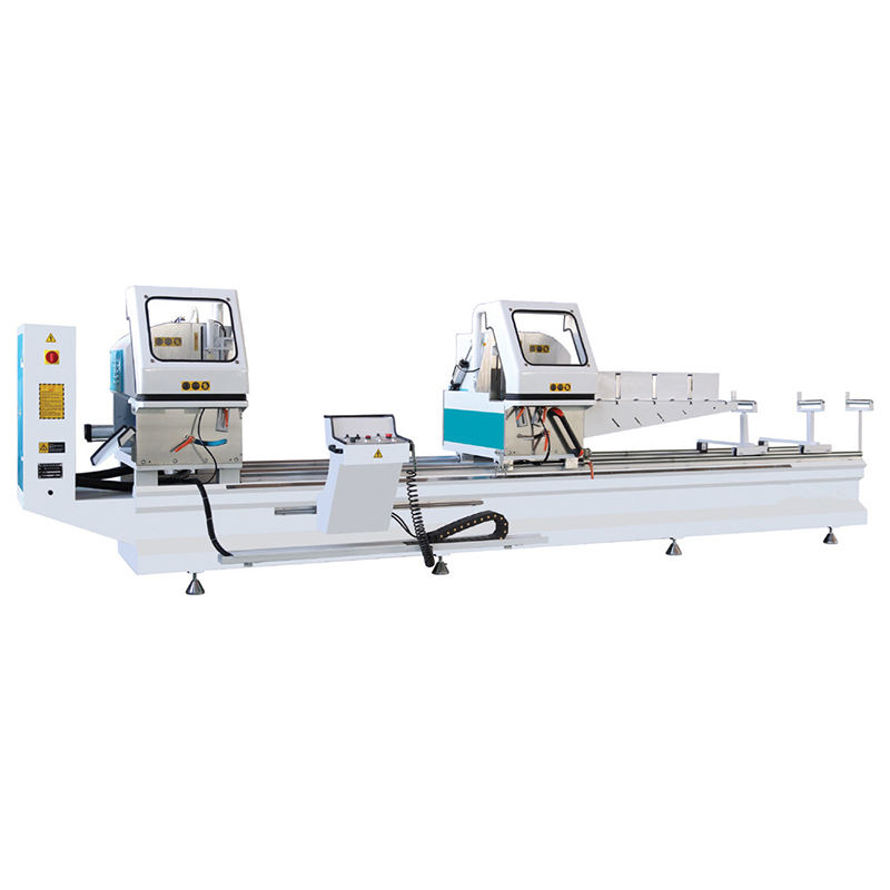 Double Mitre Aluminum Window Profile Cutting Saw Machine