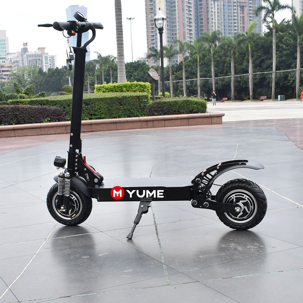 Yume 2 wheel electric motorcycle scooter folding electric scooter for sale
