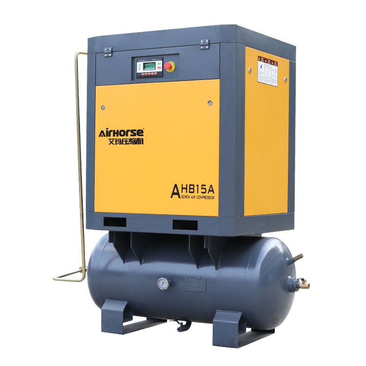 Compressor With Dryer 15hp Integrated Energi Save Screw Compressor With Air Dryer And Filter Air