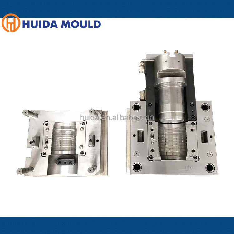 long socket 140mm pvc pipe mold with s136 core&cavity and 1.2316 mould base
