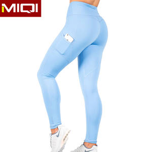 Manufacturer High Waist Sexy Fitness Booty Leggings Compression Sports Tights Yoga Pants