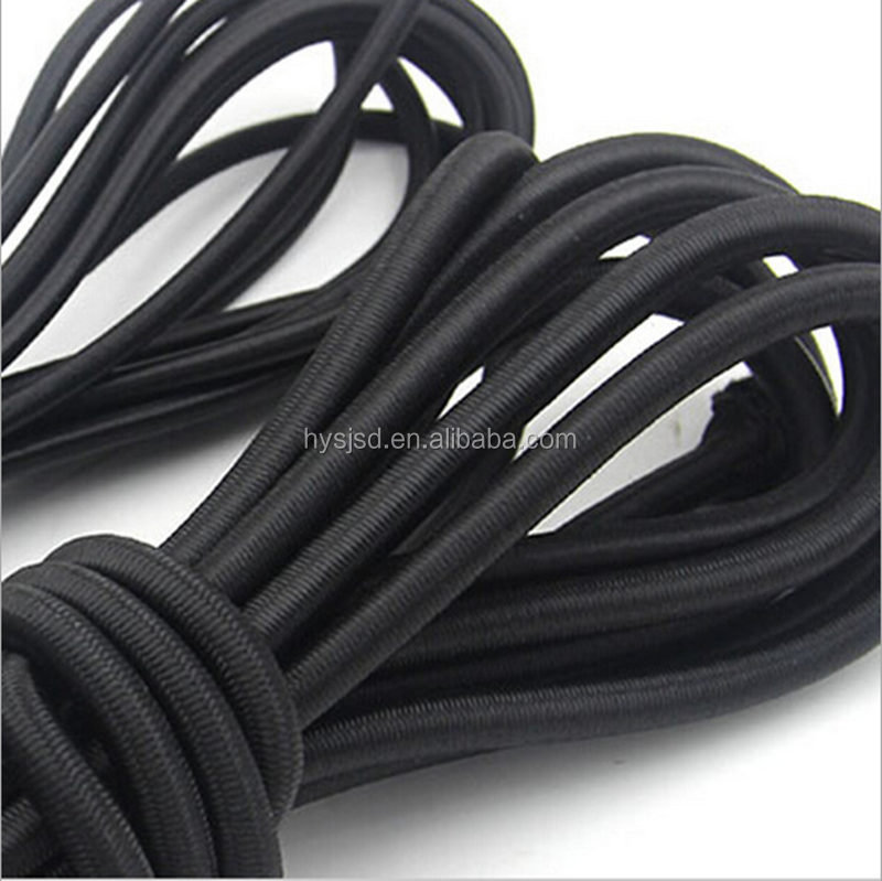 8mm strong round braided elastic bungee trampoline rope