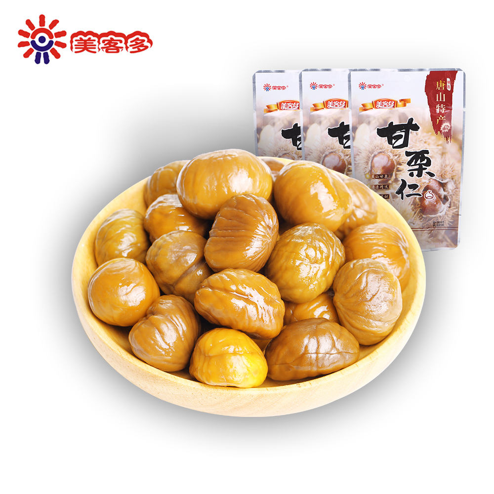 Wholesale Chinese Snacks Sweet Roasted Chestnut Nut & Kernel