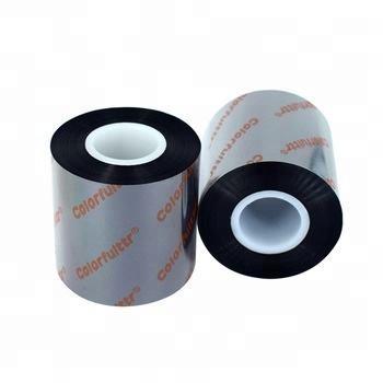 Best quality and low price barcode wax thermal transfer ttr label ribbons with high quality