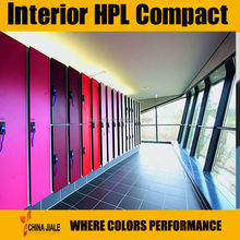 HPL phenolic Compact board / toilet partition compact laminate