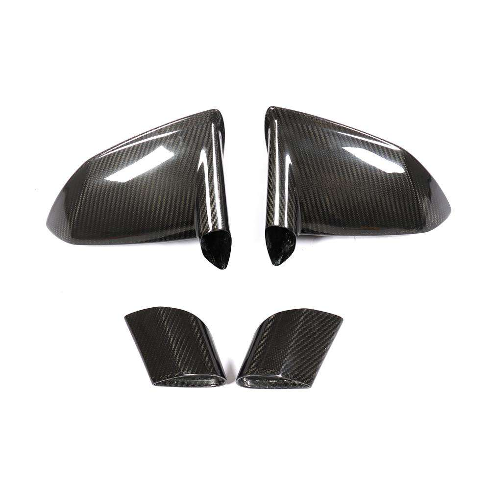 4 pz/set auto In Fibra di Carbonio side Mirror Covers per <span class=keywords><strong>Lamborghini</strong></span> Gallardo 2008-2014 (Non per Superleggera 2008)