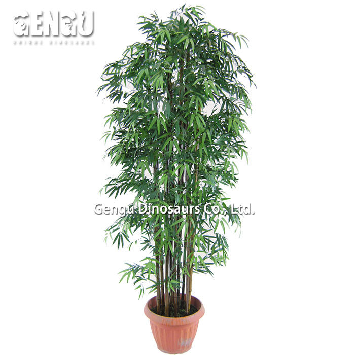 Indoor And Outdoor Playground Artificial Bamboo Tree