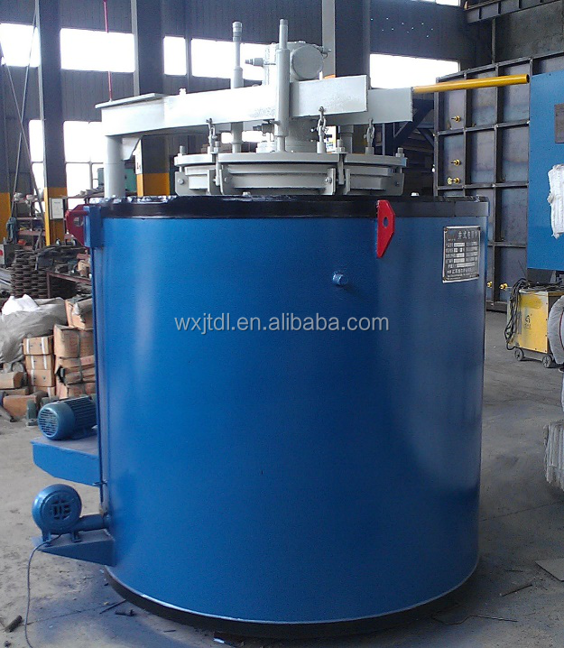China Manufacture Vacuum Nitriding Furnace for Metal Heat Treatment