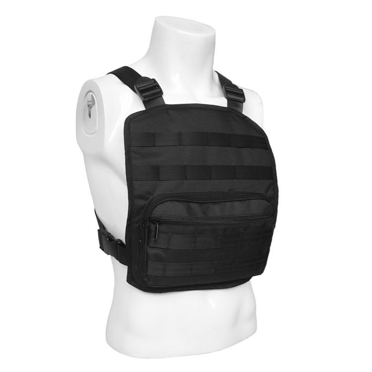 Heavy Duty Tactical Molle Chest Rig Panel Vest with Pockets