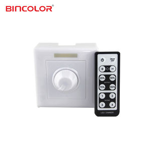BC-320-6A LED Dimmer 86 Socket Pwm Dimmer Switch dengan IR Remote