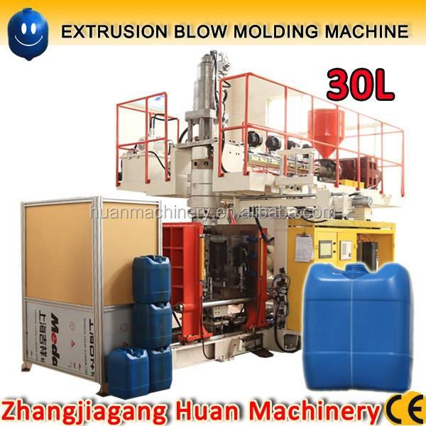 ắc đầu đùn thổi đúc máy sản xuất 30l jerry có thể, hóa chất trống máy làm