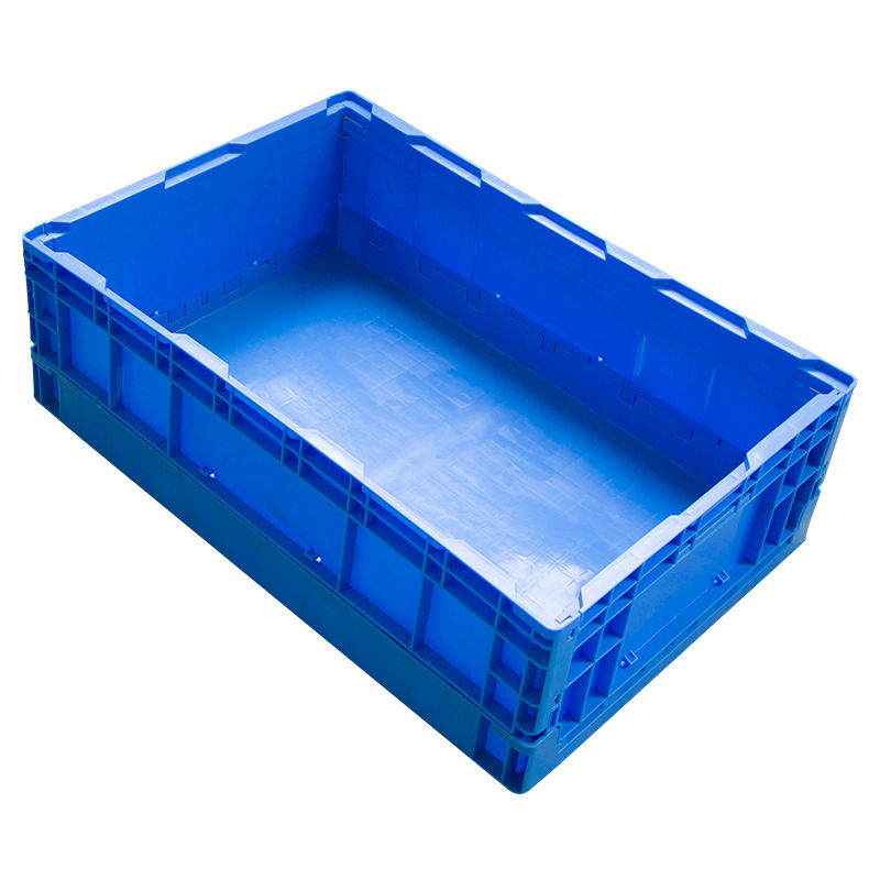 Parts bin heavy duty Turnover creat for storage Foldable creat plastic baskets for boxes different size