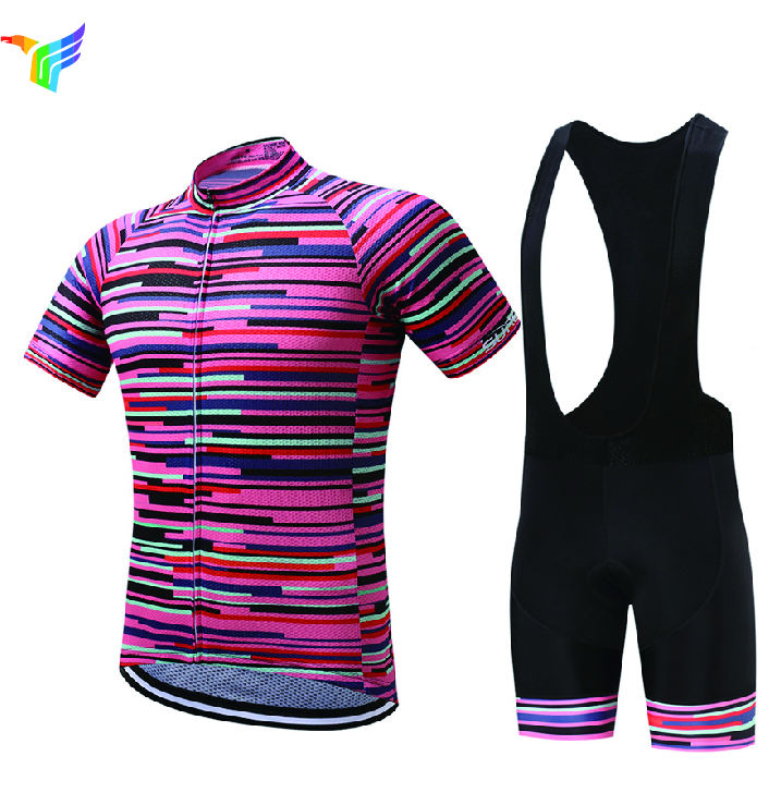 Jfc New Developed Brilliant Cycling Jersey, Sublimation Cycling Clothing Manufacturer With Colorful
