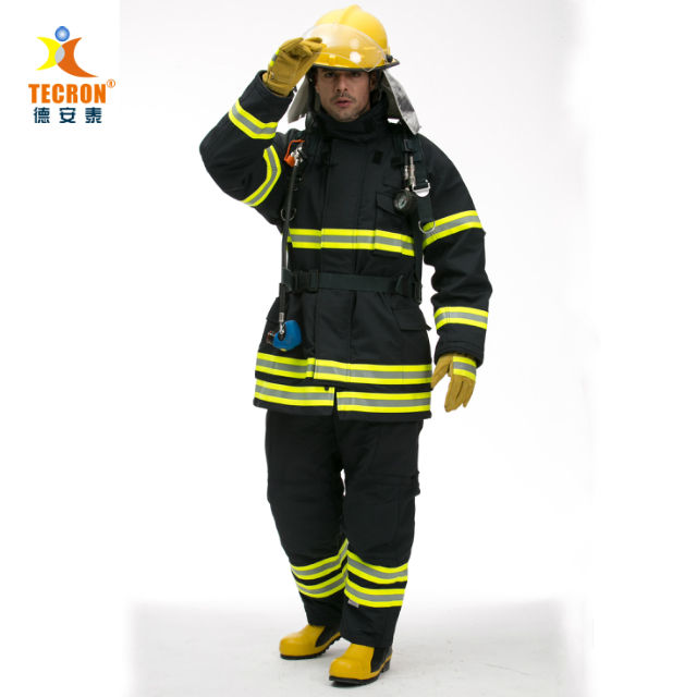 fire fighting suit EN 469 CE certified firefighter clothing