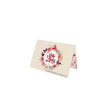 Full Color Eco-friendly Box set Custom Paper note card with envelop