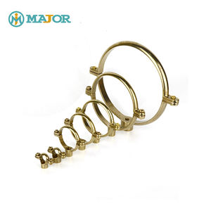 Wholesale Custom Pipe Clips Brass Die-casting Single Munsen Ring