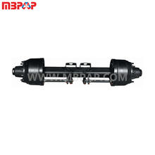 12T L1 HJ BPW type trailer axle track 1840mm 2040mm use double/single tyre drum wheel