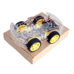 2017 DIY Longer version of 4 wd double layer smart Robot car