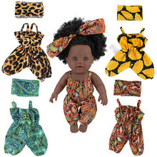 Wholesale Baby rompers African wax print American Girls children Clothing set Generation Colorful Suit for kids