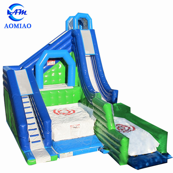 Inflatable Free Fall Drop For Kids Playground / Giant Inflatable Jumping Castle / Inflatable Cliff Jump