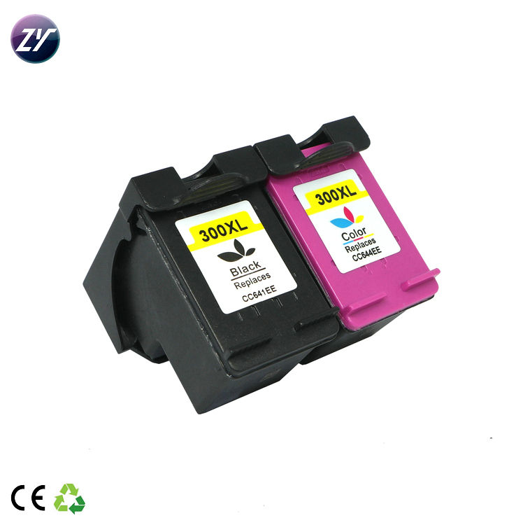 Bulk 리필 ink cartridge 대 한 hp 포토 printer 300XL color refill 팁 카트리지를