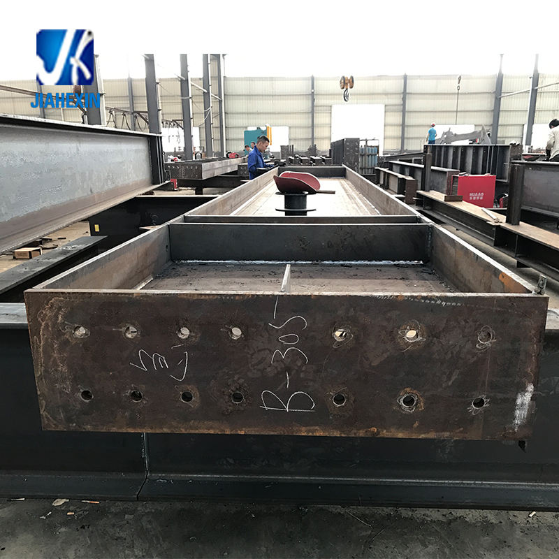 Qingdao factory steel welded fabrication structure steel frame for project