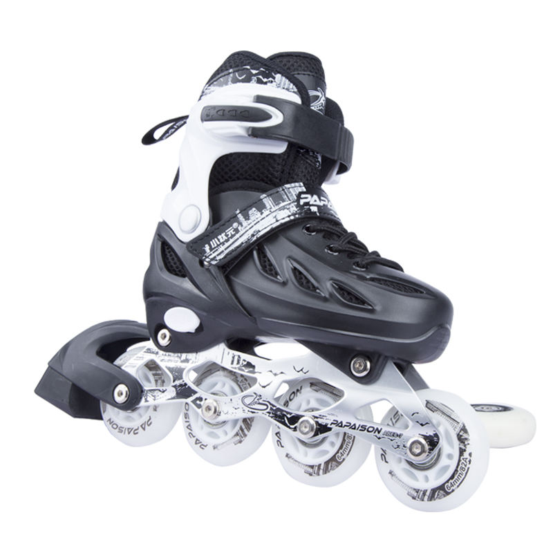 PAPAISON New Arrive Outdoors活動PP Shell PU Four Wheels Inline Roller Skates
