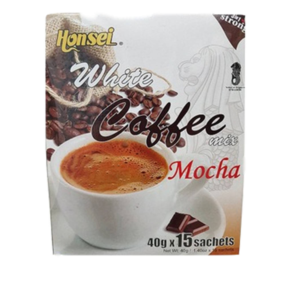 Hot Sale Honsei Chocolate Instant White Coffee With Milk