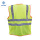 China supplier of yellow safety vest hi vis safety vest reflective safety vest with pockets