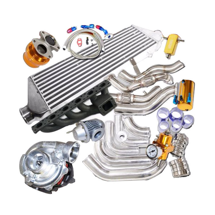 Complet Turbo Kits T3/T4 Turbo downpipe and piping bolt on fit for BMW 92-98
