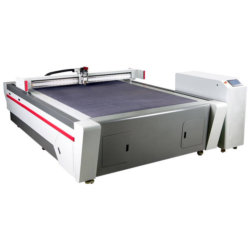 automatic textile mechanical canvas cutter fabric cutting machine blade for leather textile