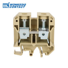 WONKEDQ SAK series 35mm weidmuller screw best din rail terminal blocks
