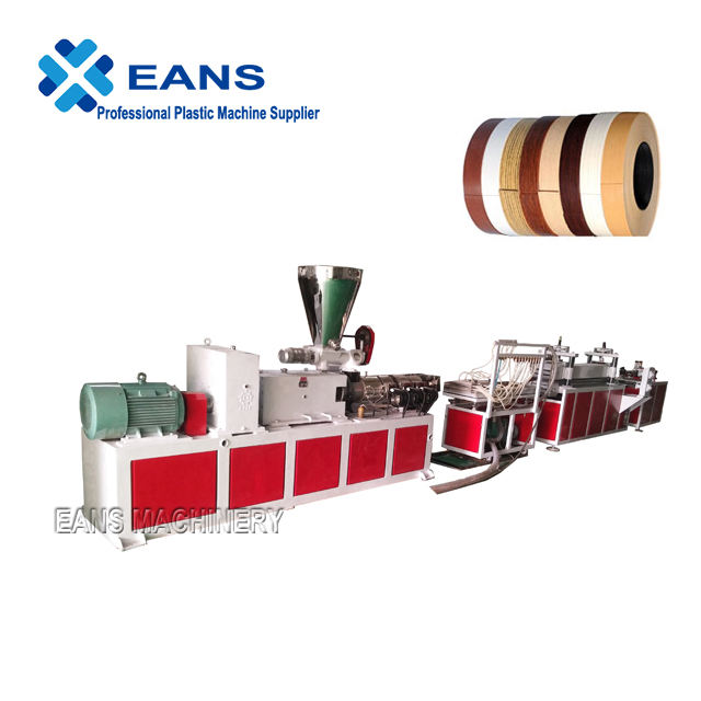 PVC edge banding manufacturing machine