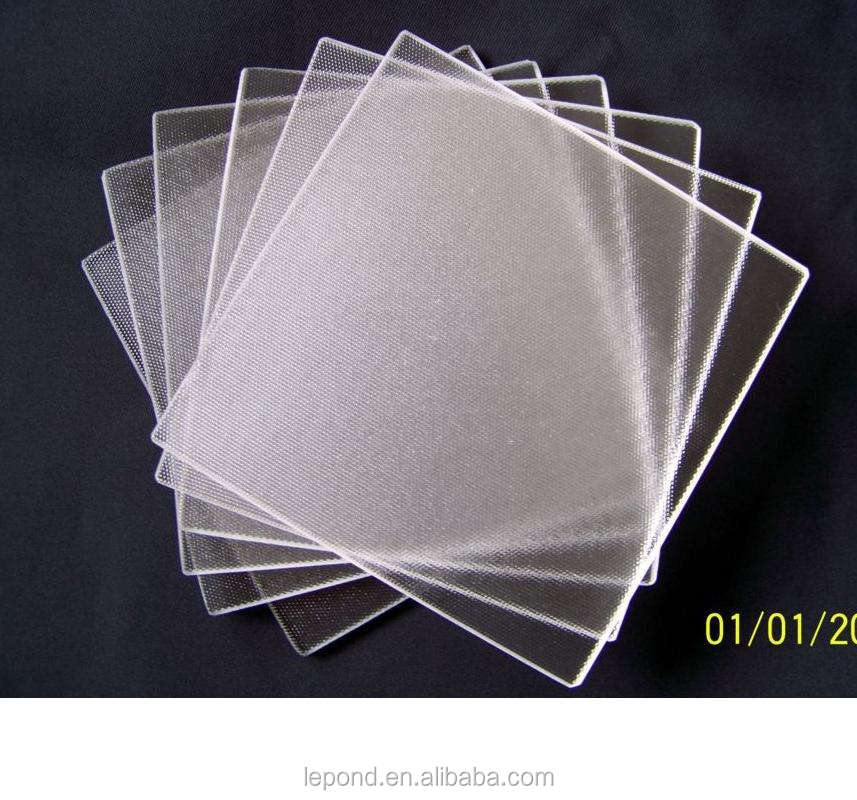 3.2mm Ultra clear Grain Patterned/Figured/Rolled Glass Approved by ISO9001&CCC*CE