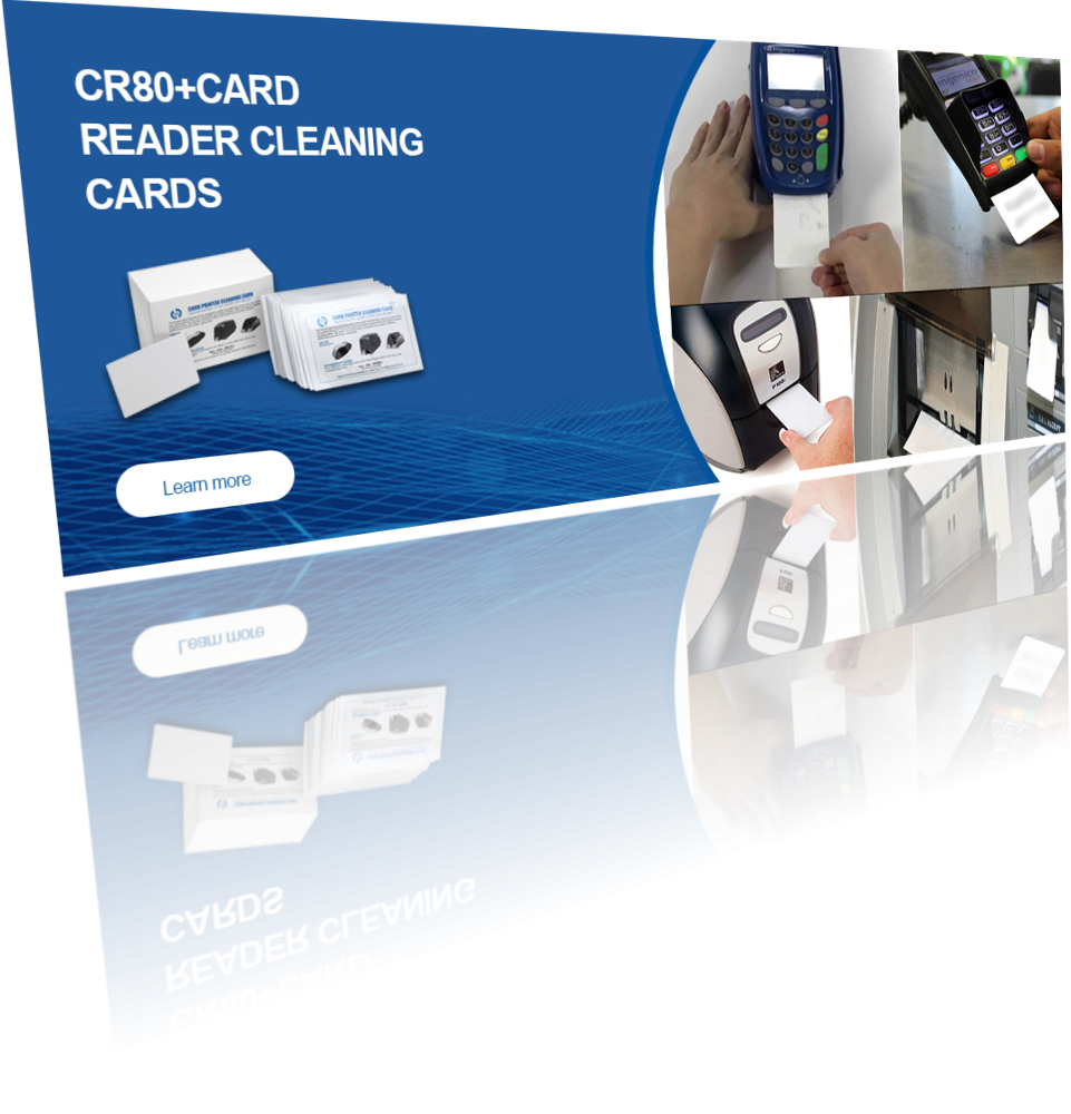 POS & Smart Card (EMV) Lezers cleaning card