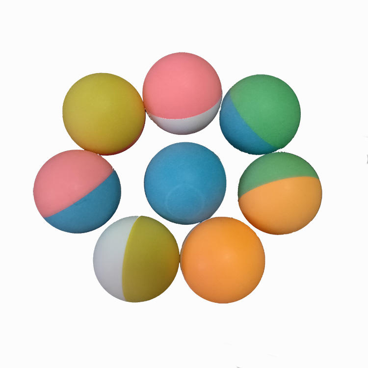 Cheap custom logo 40mm Color matching balls plastic table tennis balls wholesale