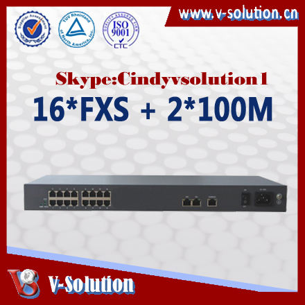 <span class=keywords><strong>voip</strong></span>電話アダプタiad3016iad16ポートfxs、 fxoataのvoipata