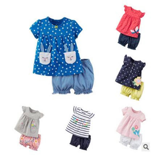 China factory adult baby clothes 100% cotton clothes summer girl clothes