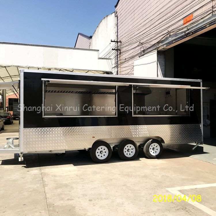 Timely Delivery food truck cart trailer mobile kitchen