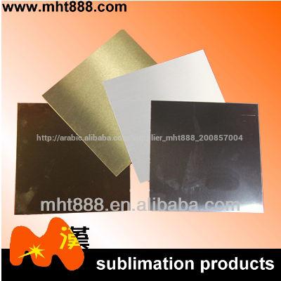 التسامي الفراغات رقائق الألومنيوم وجواب 0.4mm الذهب والفضة <span class=keywords><strong>ورقة</strong></span>، والذهب silversublimation صفائح معدنية مزدوجة
