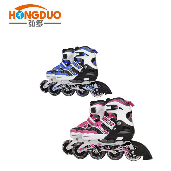 Professional wholesale flashing inline roller skates shoes